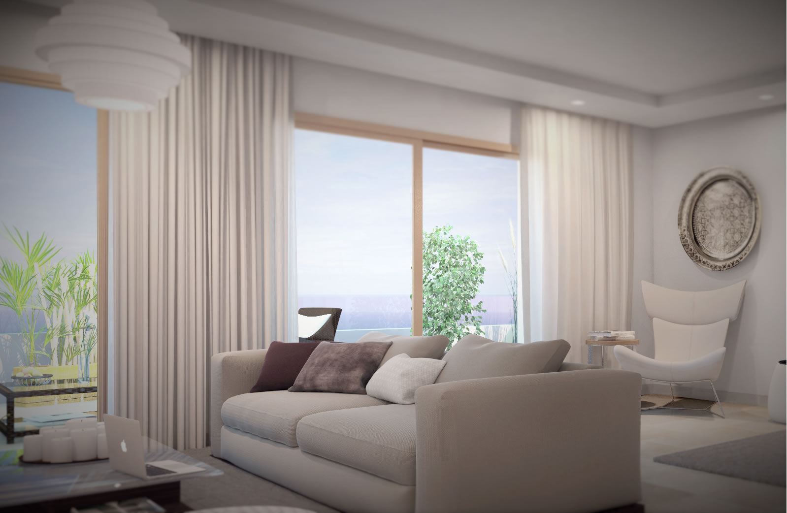 Appartement casablanca appartement de la r sidence bellerive for Design appartement maroc